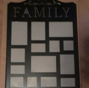 Family Wall Picture Frame NIP